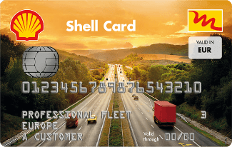 tankkarte shell card